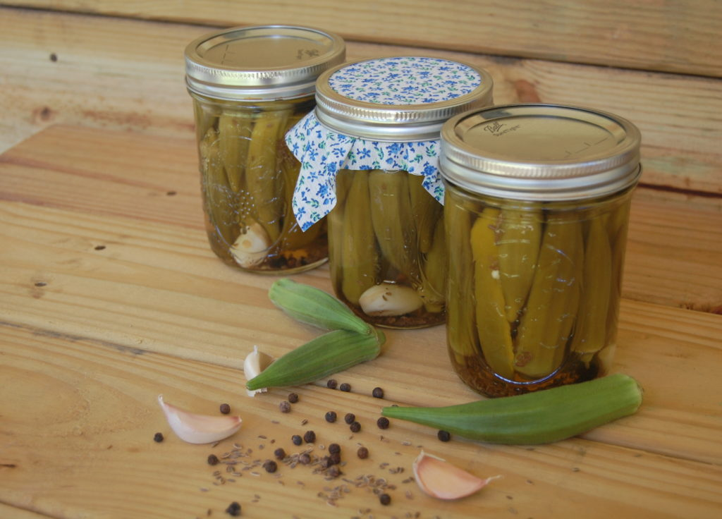 Easy Southern Pickled Okra