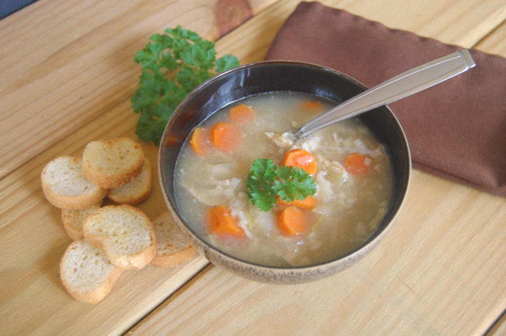 dinner Chicken Orzo Soup